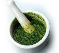 Встречаем весну: соус из зелени